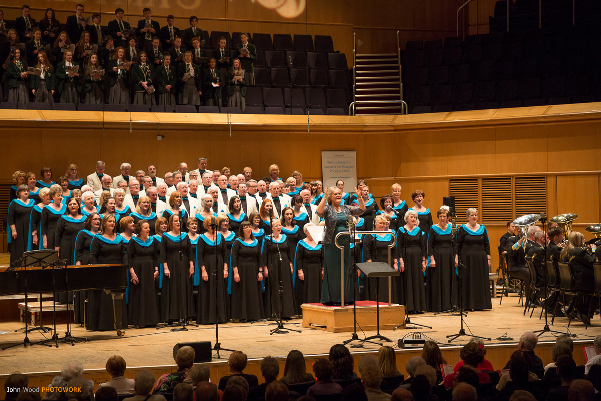 Glasgow Phoenix Choir-Glasgow Royal Concert Hall-Xmas 2017