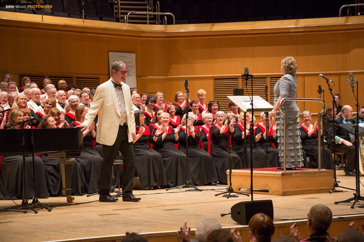 Glasgow Phoenix Choir-Cameron Murdoch-Glasgow Royal Concert Hall-Xmas 2017