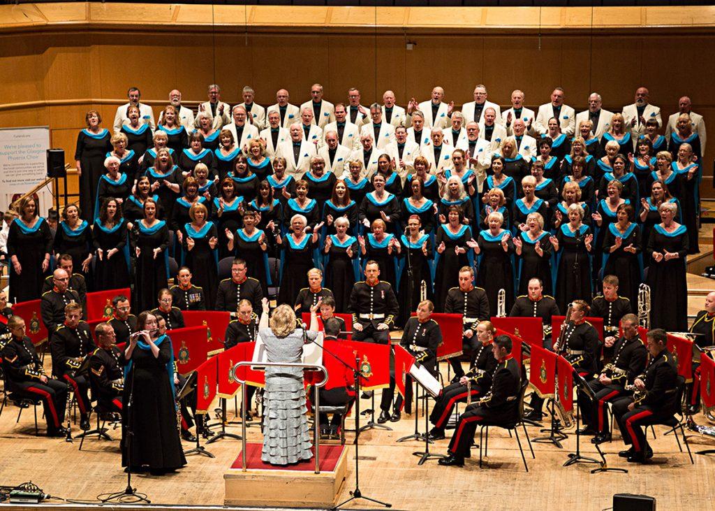 Glasgow Phoenix Choir - GRCH - RM Band (Scotland)