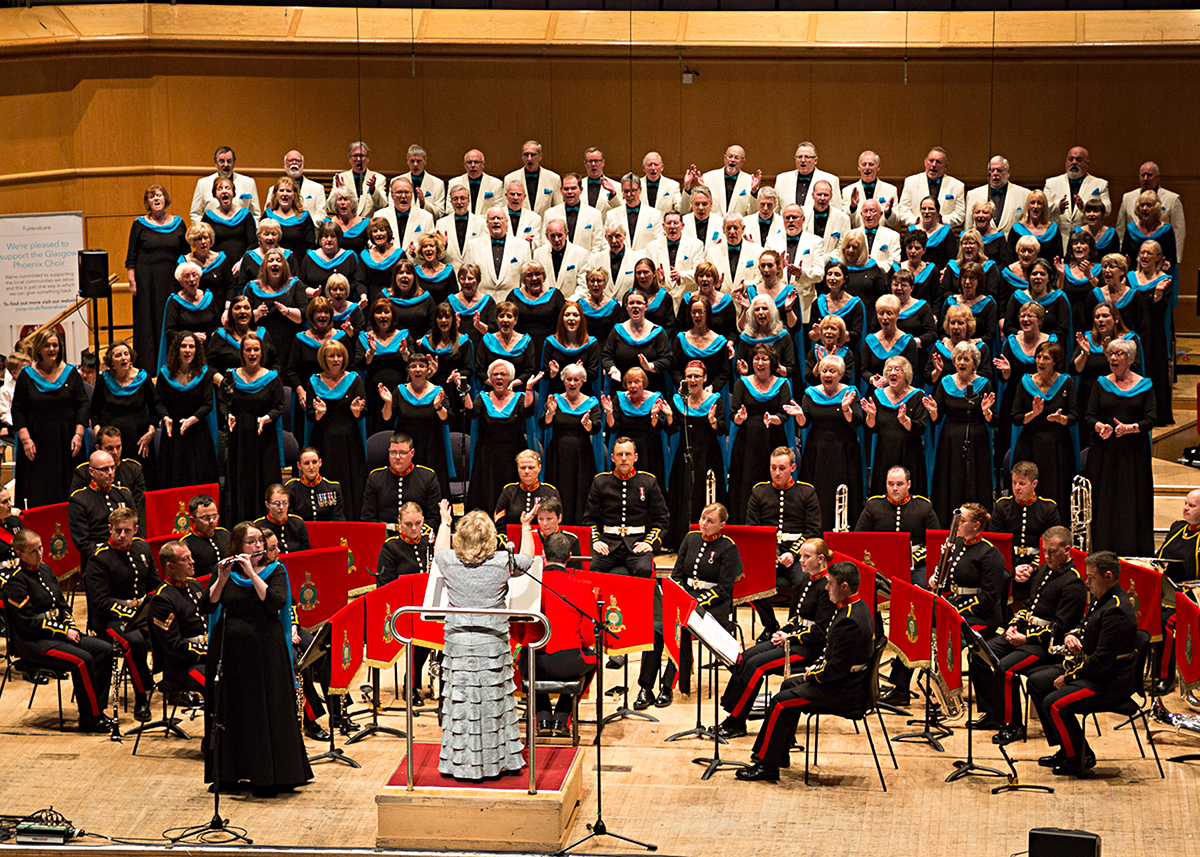 Glasgow Phoenix Choir - GRCH - RM Band (Scotland)