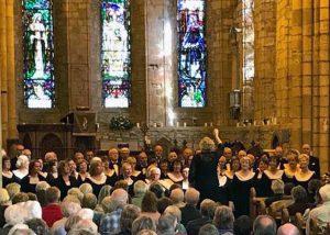 Glasgow Phoenix Choir - Dornoch Cathedral - 22 Sept.2018