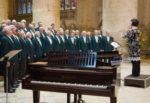 Picture of choirs in concert