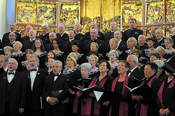 Glasgow Phoenix Choir in Germany