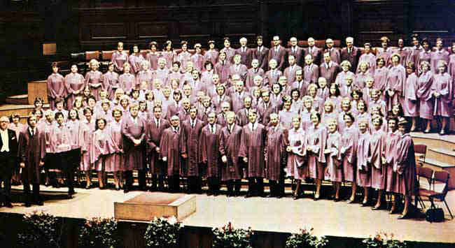 Picture of Choir at Glasgow City Hall, 25th Anniversary