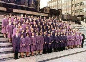 Picture of Choir in 1975