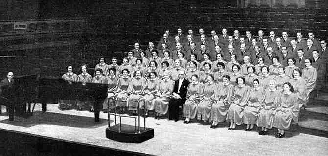 Picture of Choir from 1953