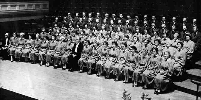Picture of Choir from 1961