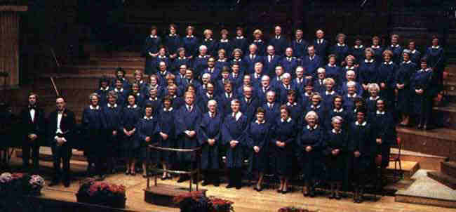 Picture of choir 1987