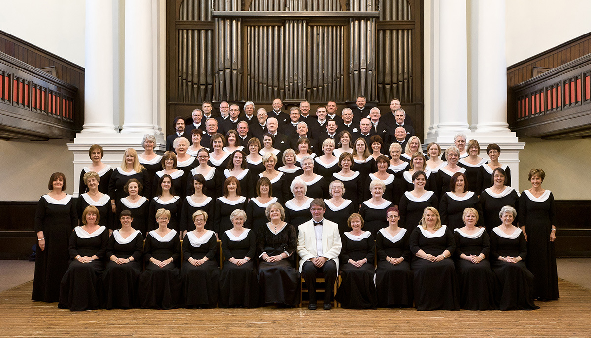 Glasgow Phoenix Choir group photo